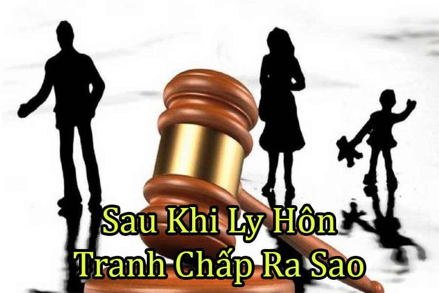 tranh chấp tài sản sau khi ly hôn